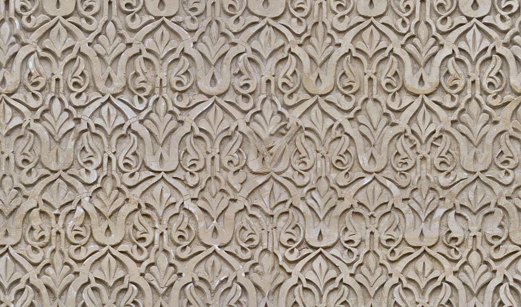 OrnamentsMoorishStucco0149  Free Background Texture