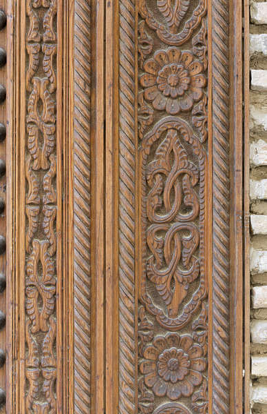 OrnamentsMoorishWood0060  Free Background Texture