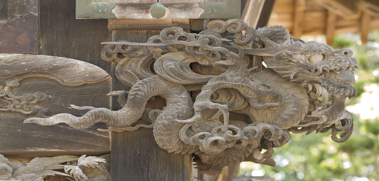 OrientalSculptures0049  Free Background Texture  ornament ornaments japan wood carving dragon
