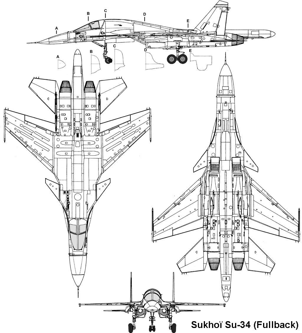 Sukhoi 34 El Nuevo Avion De Ataque Ruso