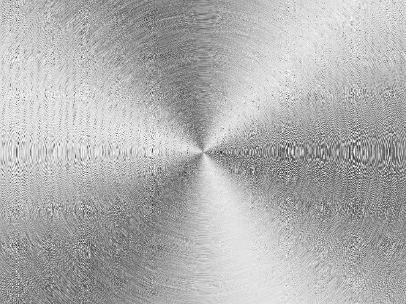 brushed stainless steel metal