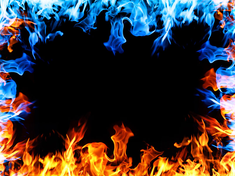 fire flames frame free