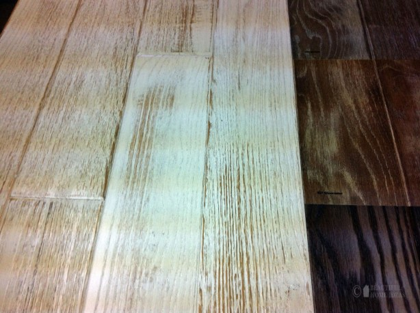 beveled hardwood flooring