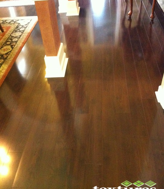 clean laminate flooring after