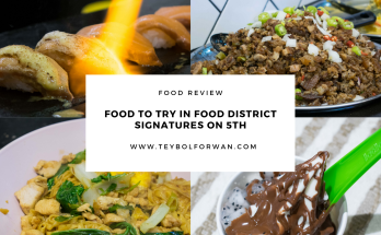 Food District in BGC