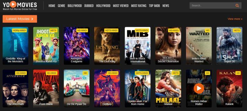 YoMovies - Watch HD Bollywood Hindi Movies Online Free