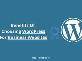 Benefits Of Choosing WordPress