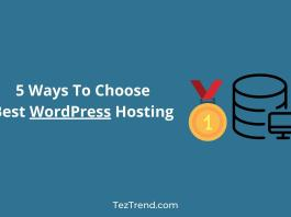 Choose Best WordPress Hosting