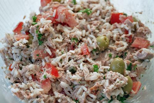 Tf79ch Recettes Salade De Riz Au Thon