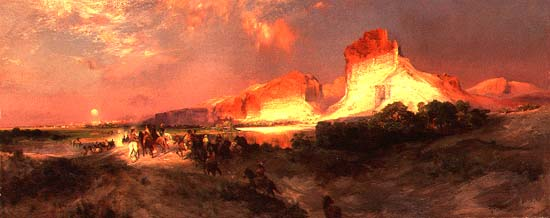 First Retrospective of Landscapes by Thomas Moran at the