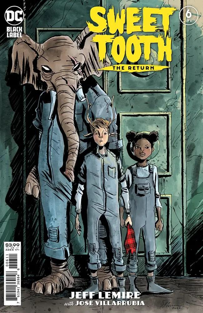 0221DC075 ComicList: DC Comics New Releases for 04/14/2021