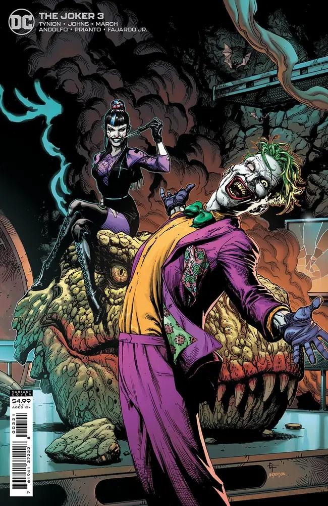 0321DC068 ComicList: DC Comics New Releases for 05/12/2021