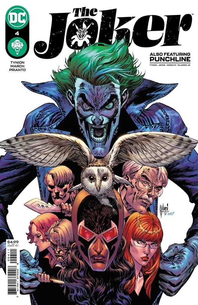 0421DC124 ComicList: DC Comics New Releases for 06/09/2021