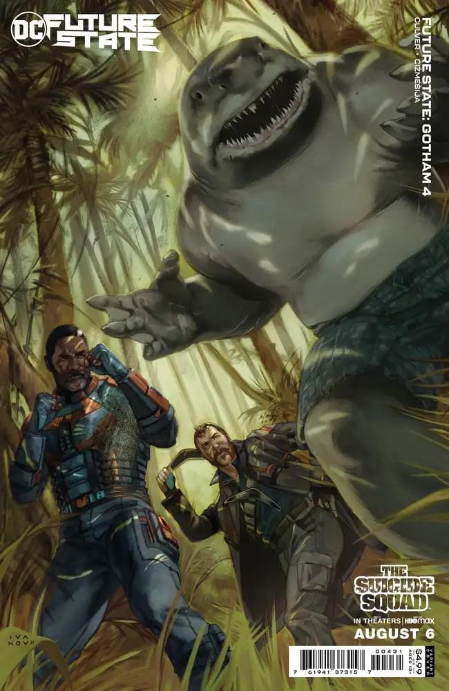 0621DC107 ComicList: DC Comics New Releases for 08/11/2021