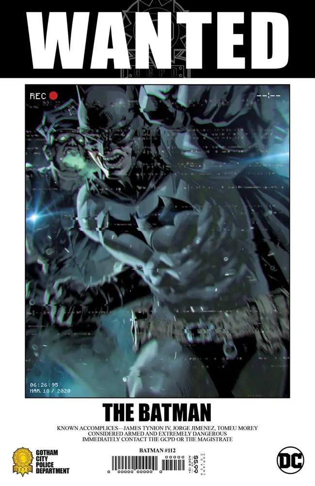 0721DC009 ComicList: DC Comics New Releases for 09/08/2021