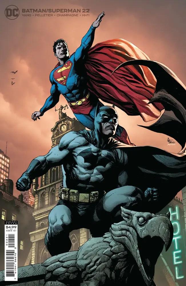 0721DC076 ComicList: DC Comics New Releases for 09/29/2021