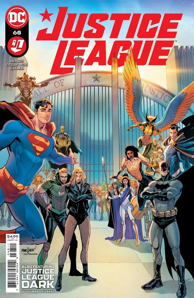 0721DC097 ComicList: DC Comics New Releases for 09/29/2021