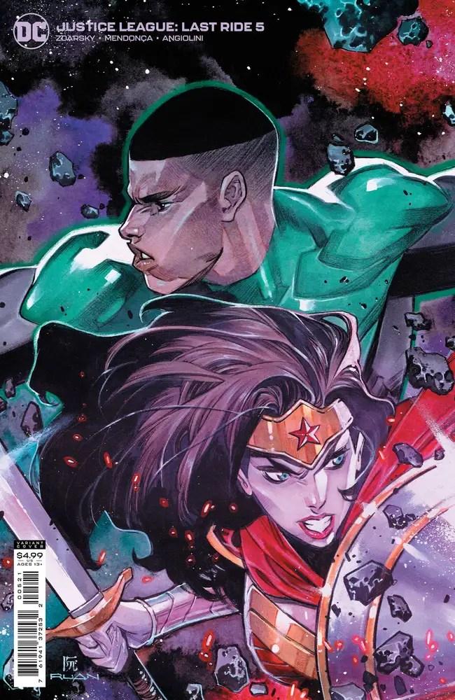 0721DC101 ComicList: DC Comics New Releases for 09/15/2021
