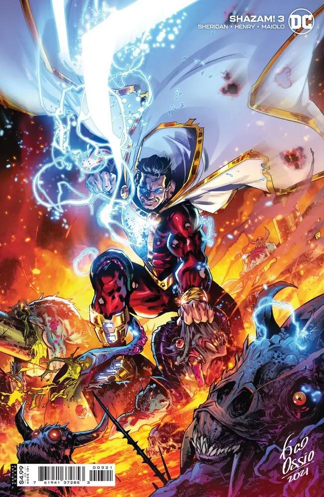 0721DC119 ComicList: DC Comics New Releases for 09/22/2021