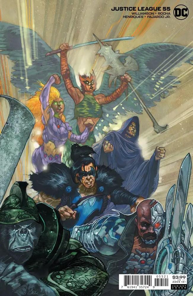 0820DC053 ComicList: DC Comics New Releases for 10/21/2020