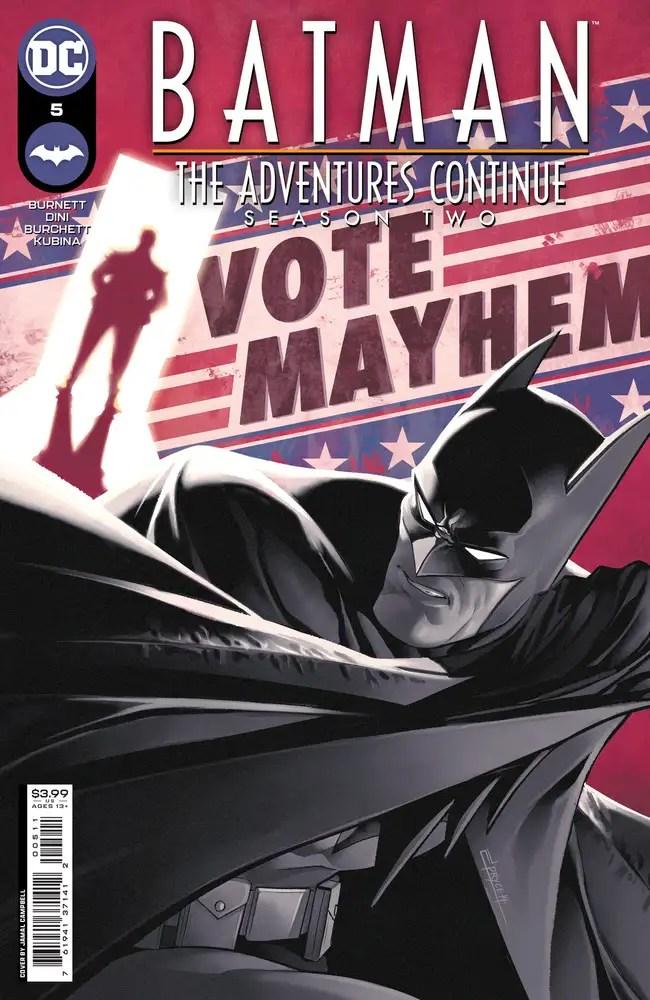 0821DC092 ComicList: DC Comics New Releases for 10/06/2021