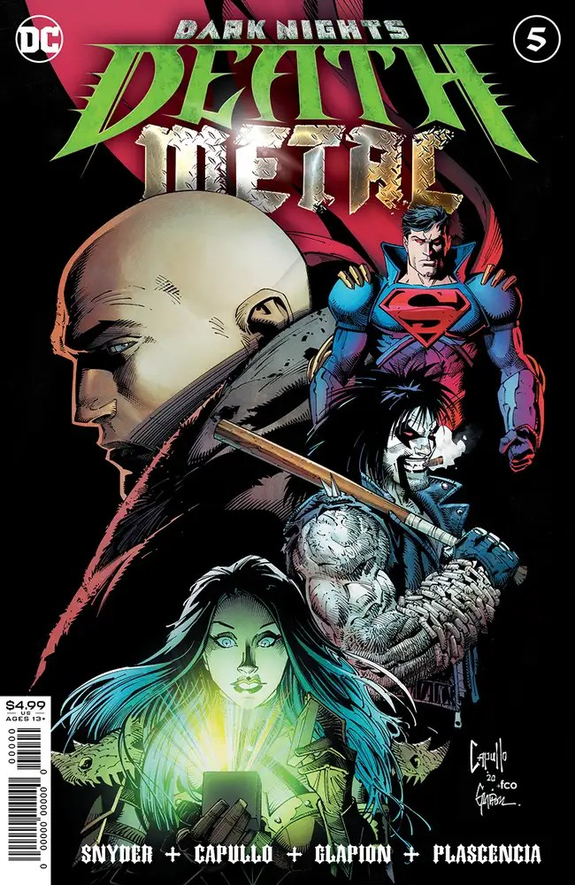 0920DC019 ComicList: DC Comics New Releases for 11/18/2020