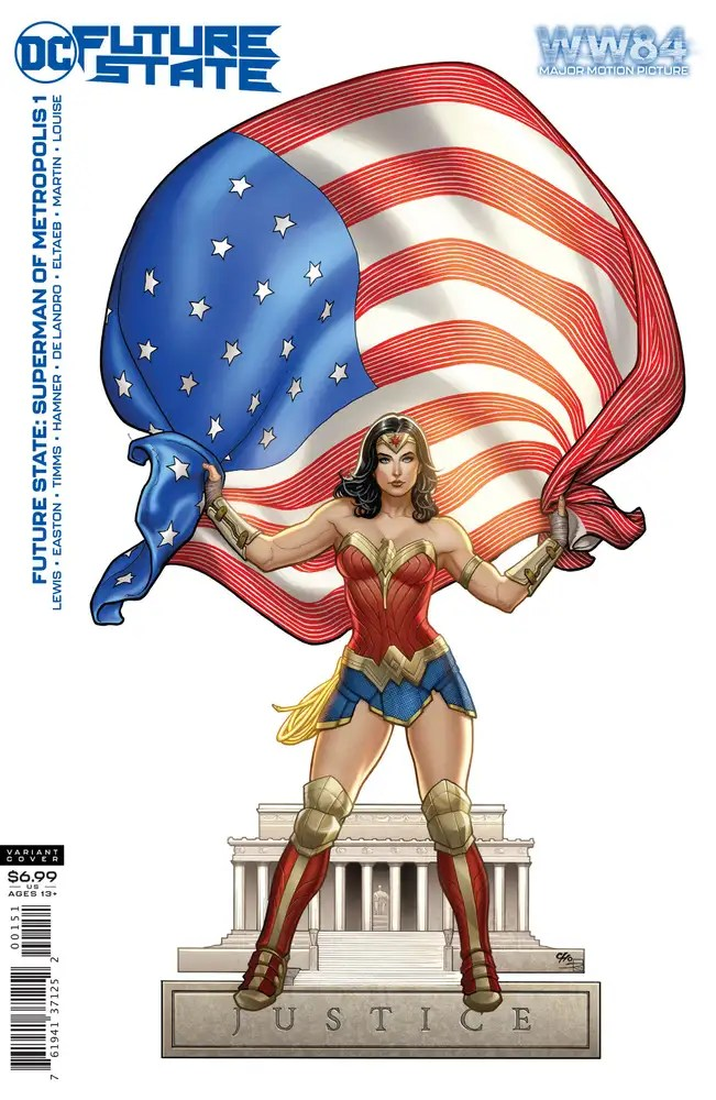1120DC803 ComicList: DC Comics New Releases for 01/06/2021