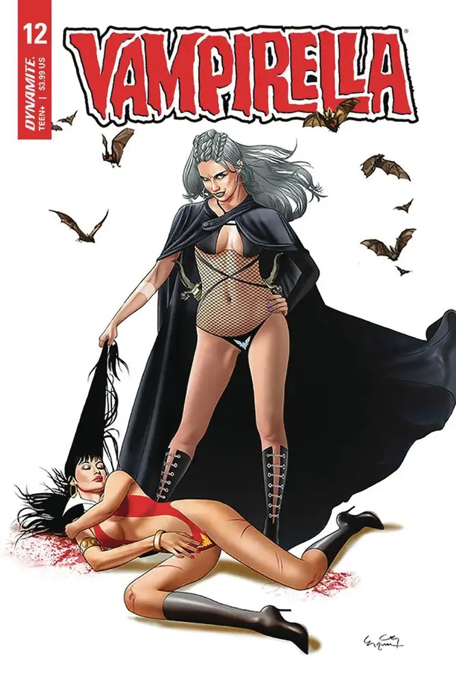 APR201201 ComicList: Dynamite Entertainment New Releases for 08/12/2020