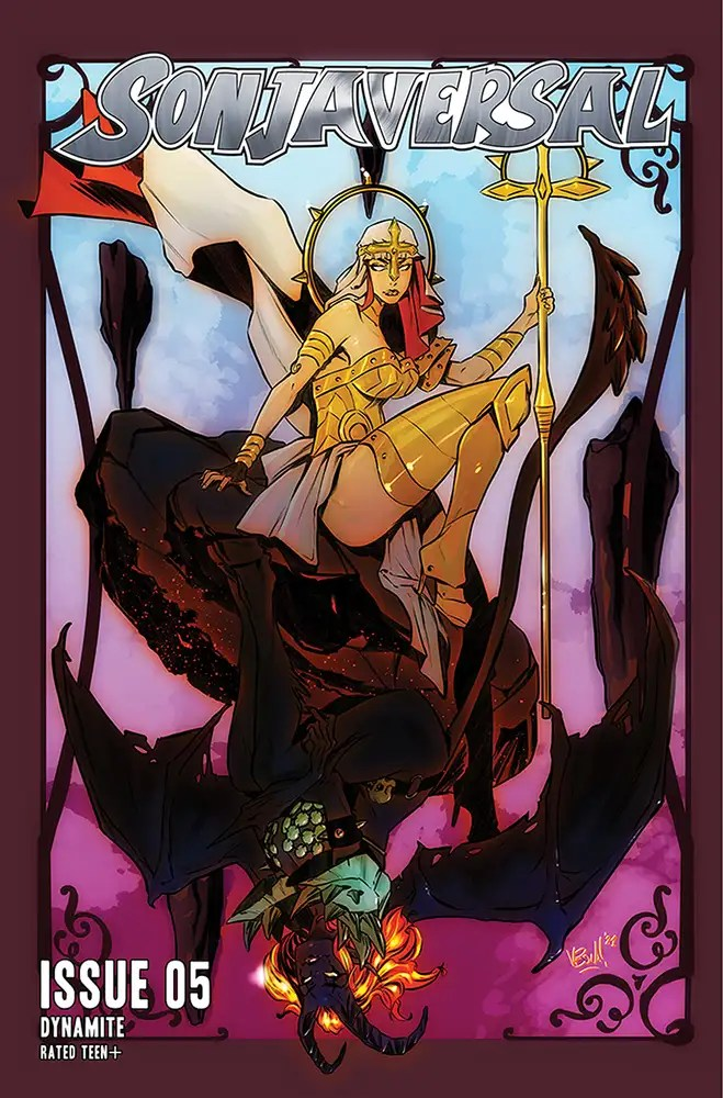 APR211106 ComicList: Dynamite Entertainment New Releases for 06/16/2021