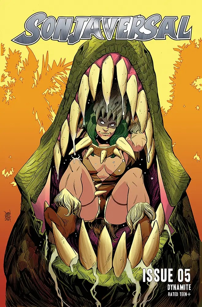 APR211109 ComicList: Dynamite Entertainment New Releases for 06/16/2021