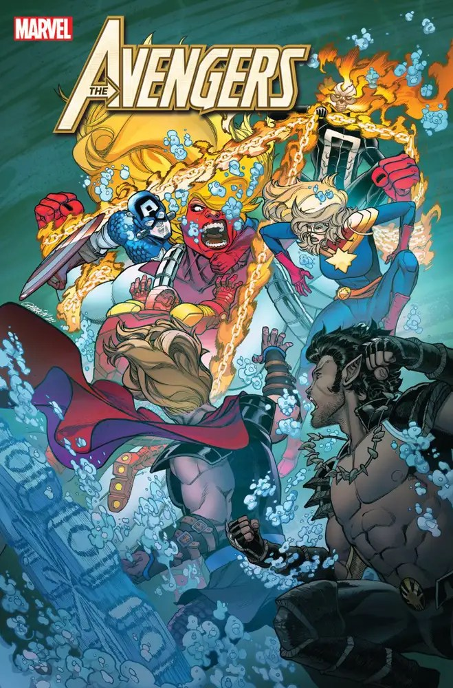 AUG211182 ComicList: Marvel Comics New Releases for 10/13/2021