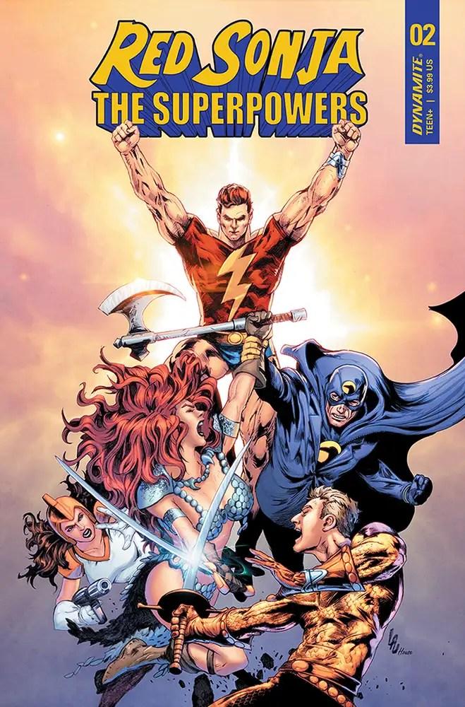 DEC200795 ComicList: Dynamite Entertainment New Releases for 02/10/2021