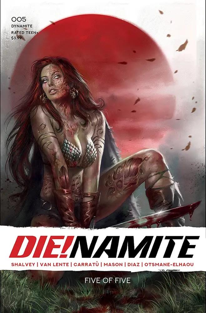 DEC200851 ComicList: Dynamite Entertainment New Releases for 02/17/2021