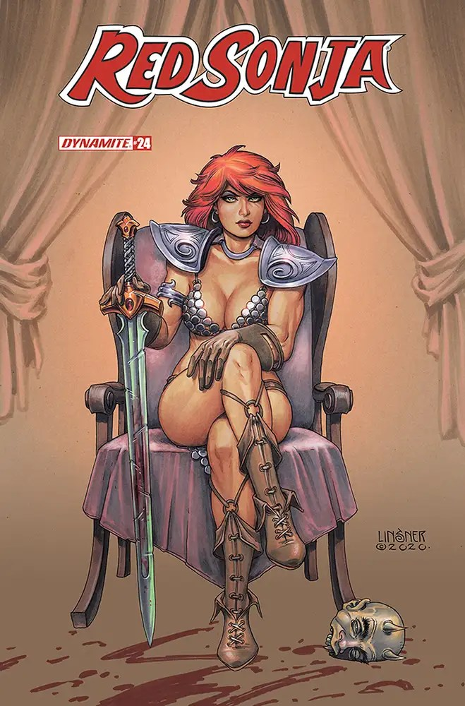 DEC200891 ComicList: Dynamite Entertainment New Releases for 02/24/2021