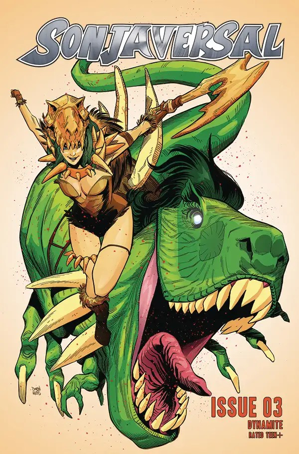 FEB210728 ComicList: Dynamite Entertainment New Releases for 04/07/2021