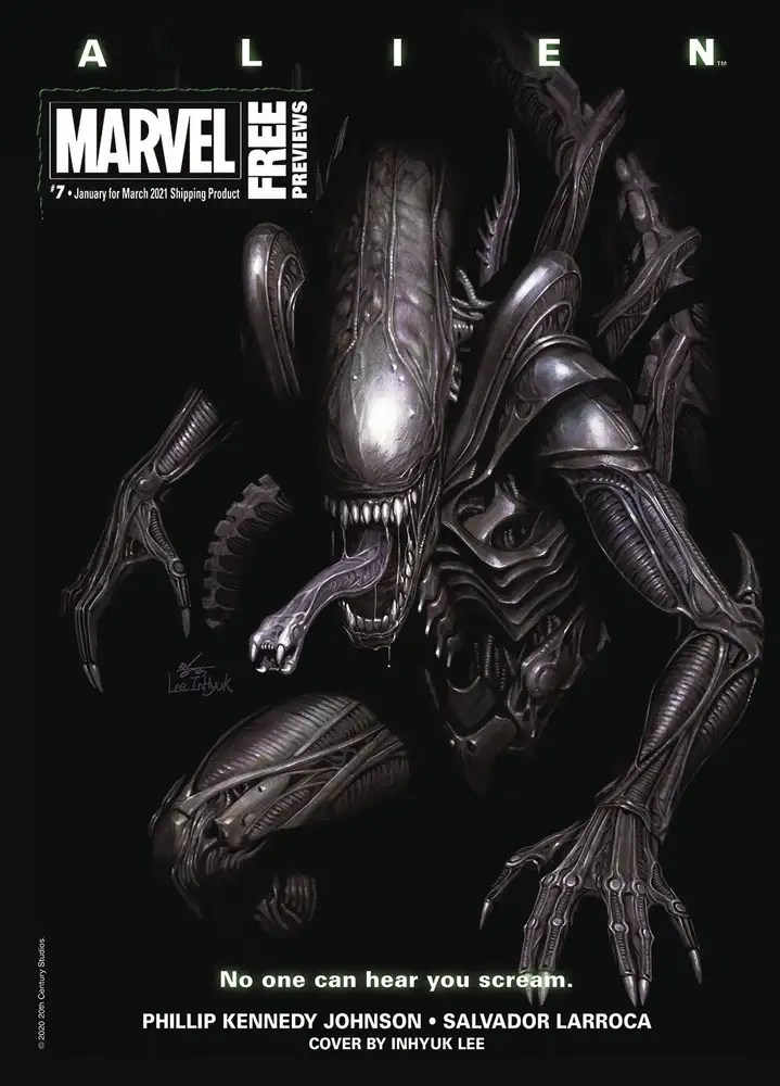 JAN210002 ComicList: Marvel Comics New Releases for 02/24/2021