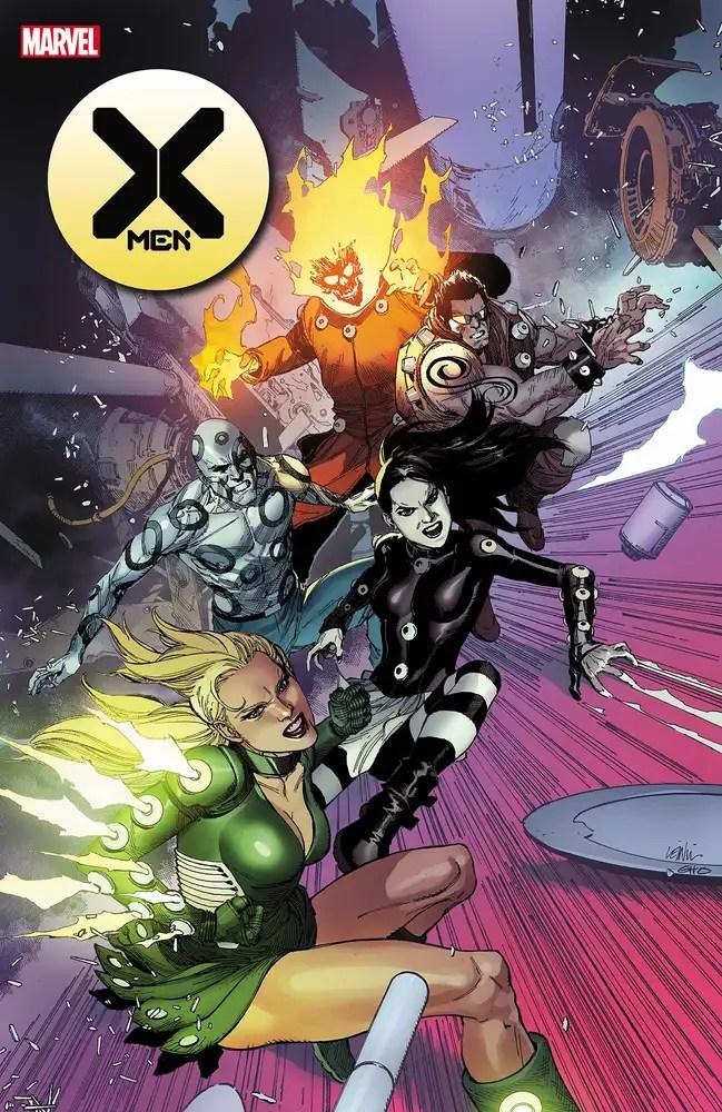 JAN210628 ComicList: Marvel Comics New Releases for 03/31/2021