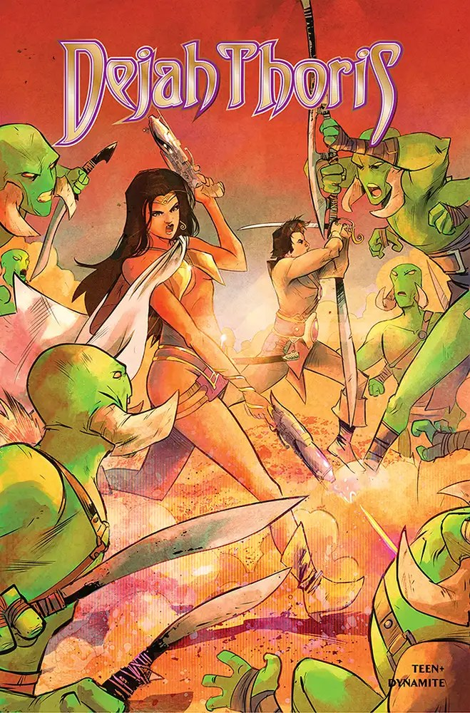 JAN210817 ComicList: Dynamite Entertainment New Releases for 04/28/2021