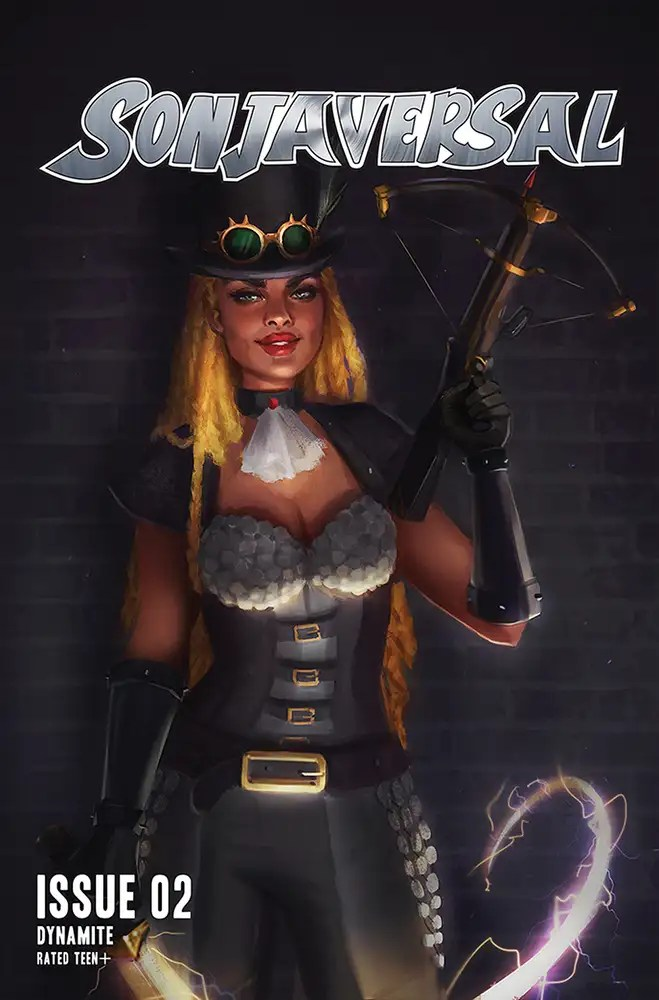 JAN210834 ComicList: Dynamite Entertainment New Releases for 03/03/2021