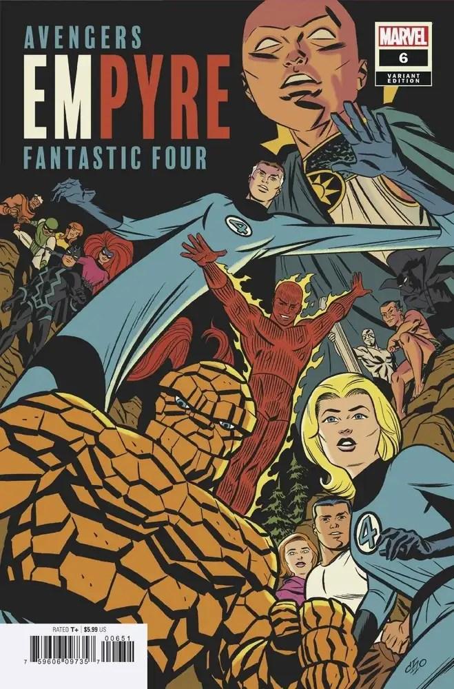 JUL200641 ComicList: Marvel Comics New Releases for 09/02/2020