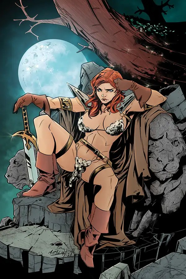 JUL200784 ComicList: Dynamite Entertainment New Releases for 09/02/2020