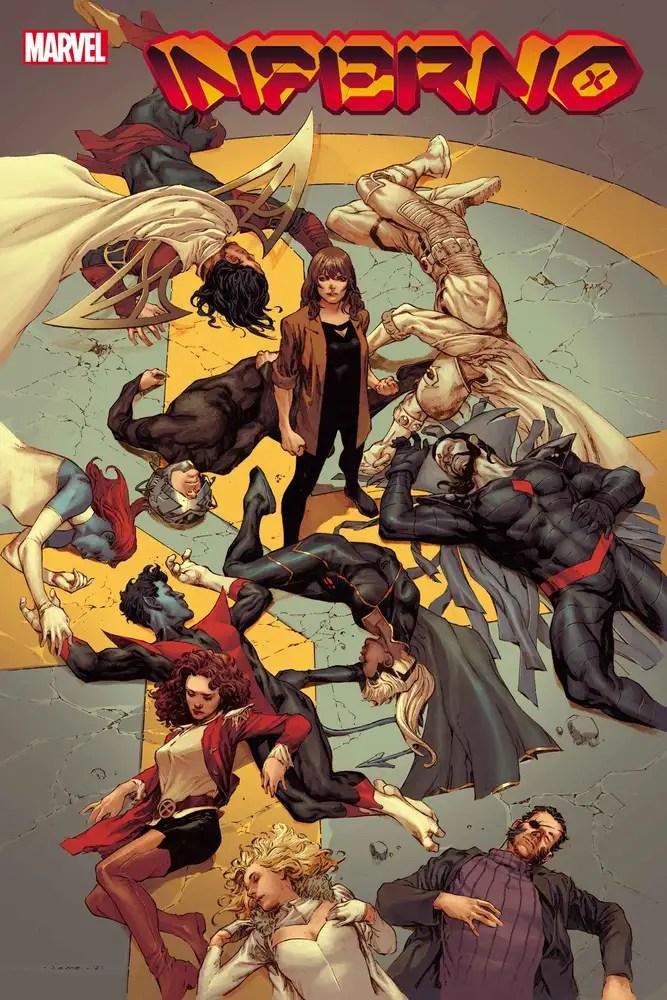 JUL210520 ComicList: Marvel Comics New Releases for 09/29/2021