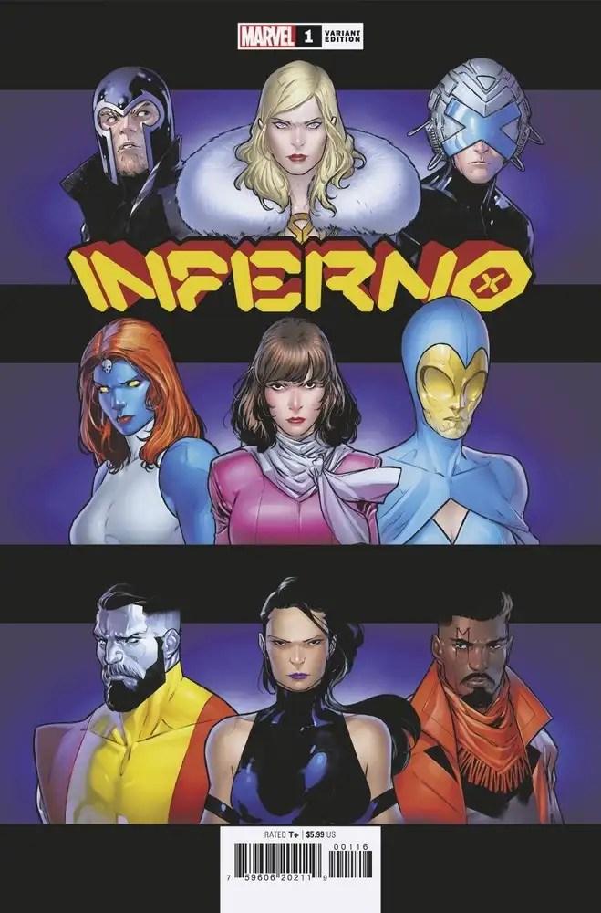JUL210528 ComicList: Marvel Comics New Releases for 09/29/2021