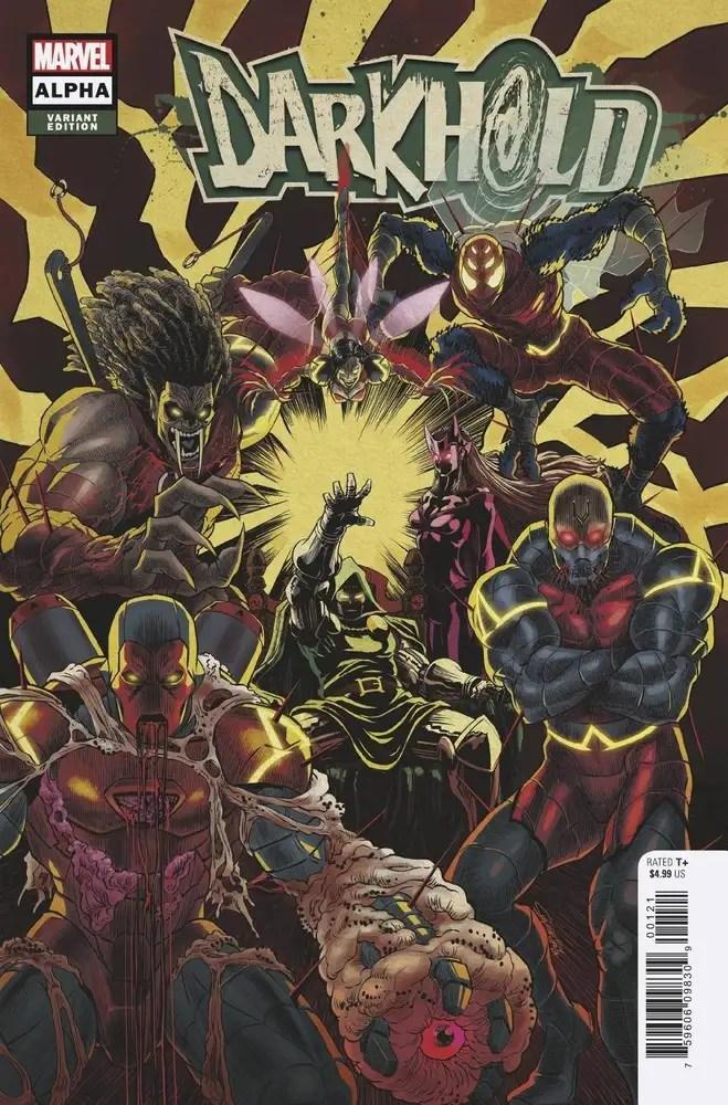 JUL210549 ComicList: Marvel Comics New Releases for 10/06/2021