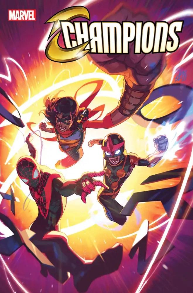 JUL210719 ComicList: Marvel Comics New Releases for 09/08/2021