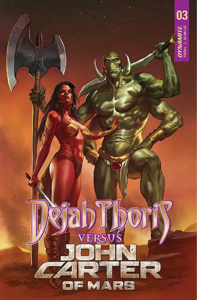 JUL210945 ComicList: Dynamite Entertainment New Releases for 09/29/2021