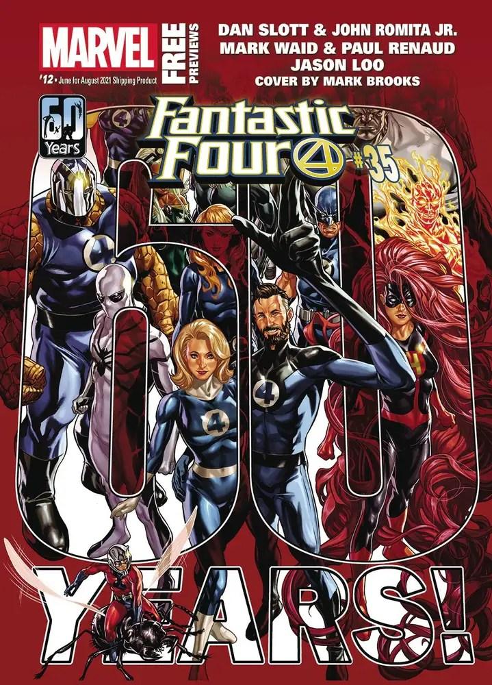 JUN210002 ComicList: Marvel Comics New Releases for 07/28/2021