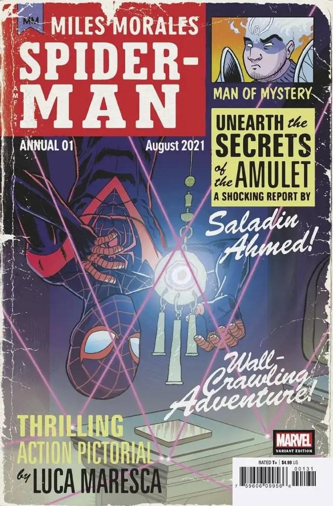 JUN210622 ComicList: Marvel Comics New Releases for 08/18/2021