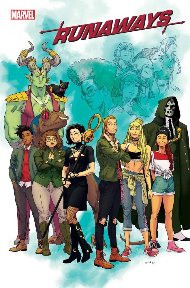 JUN210724 ComicList: Marvel Comics New Releases for 08/11/2021