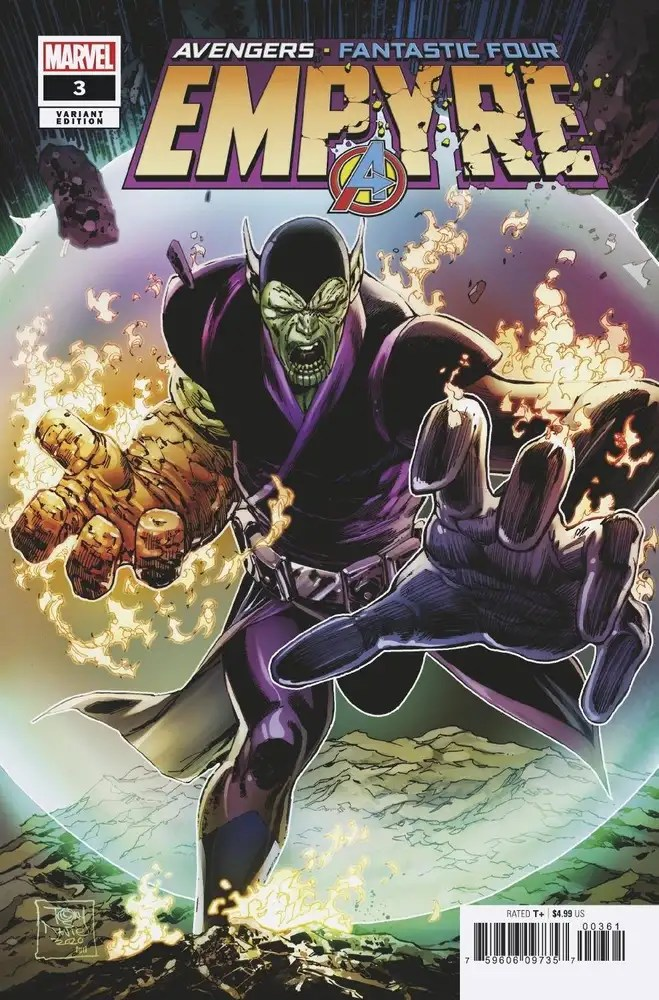 MAR200841 ComicList: Marvel Comics New Releases for 07/29/2020